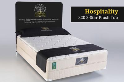 Hospitality 320 3-Star Plush Top Hotel Mattress