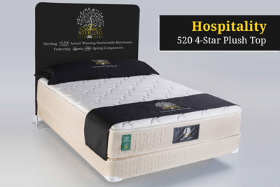Hospitality 520 4-Star Plush Top Hotel Mattress
