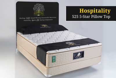 Hospitality  525 5-Star Pillow Top Hotel Mattress