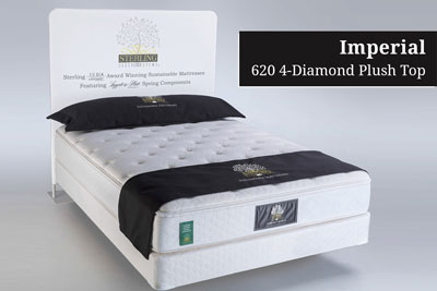 Imperial 620 4-Diamond Plush Top Hotel Mattress