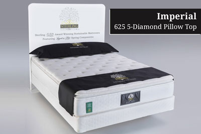 Imperial 625 5-Diamond Pillow Top Hotel Mattress