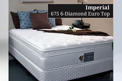 Imperial 675 6-Diamond Euro Top Hotel Mattress