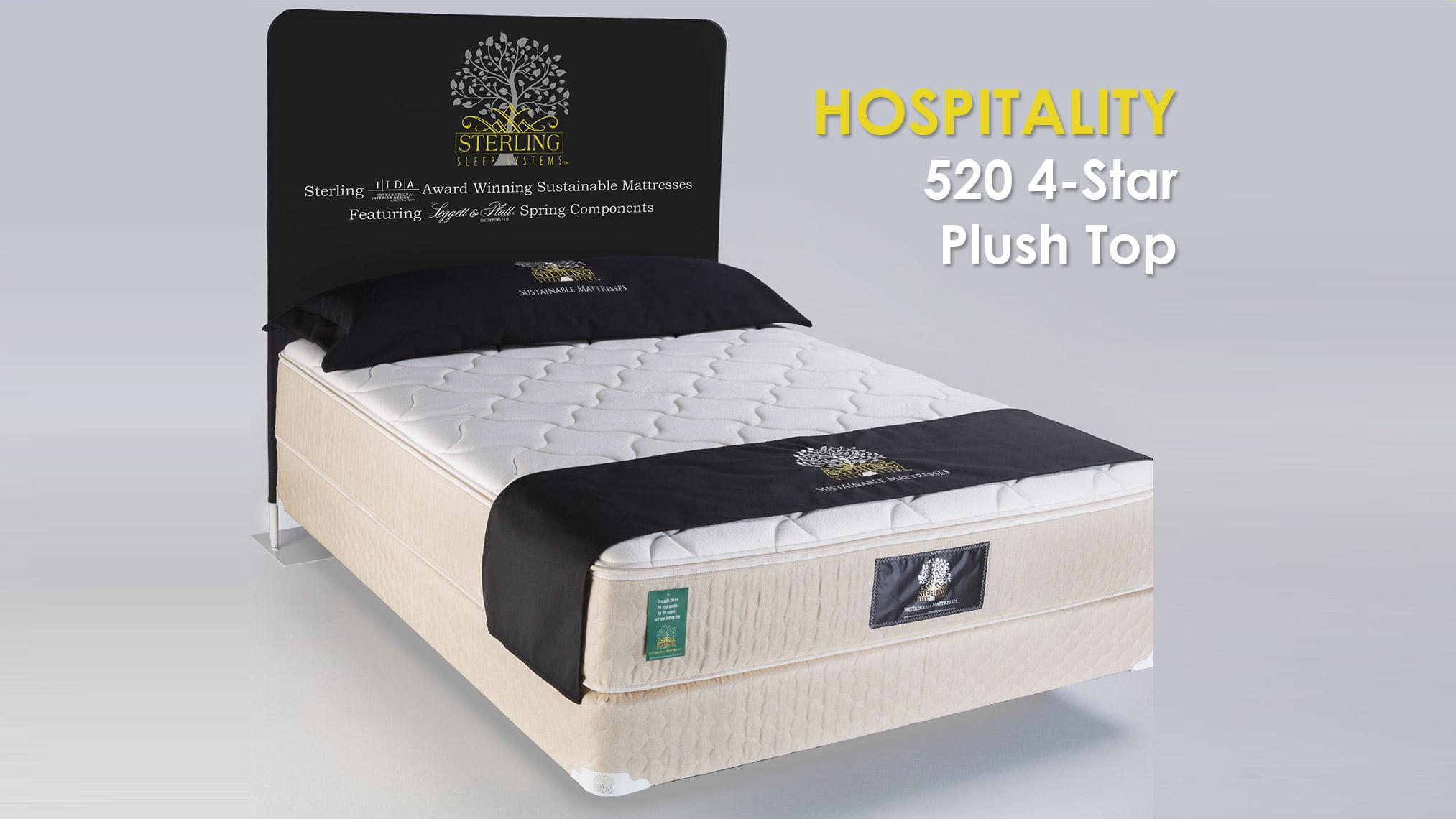 hospitality 520 4-star plush top mattress