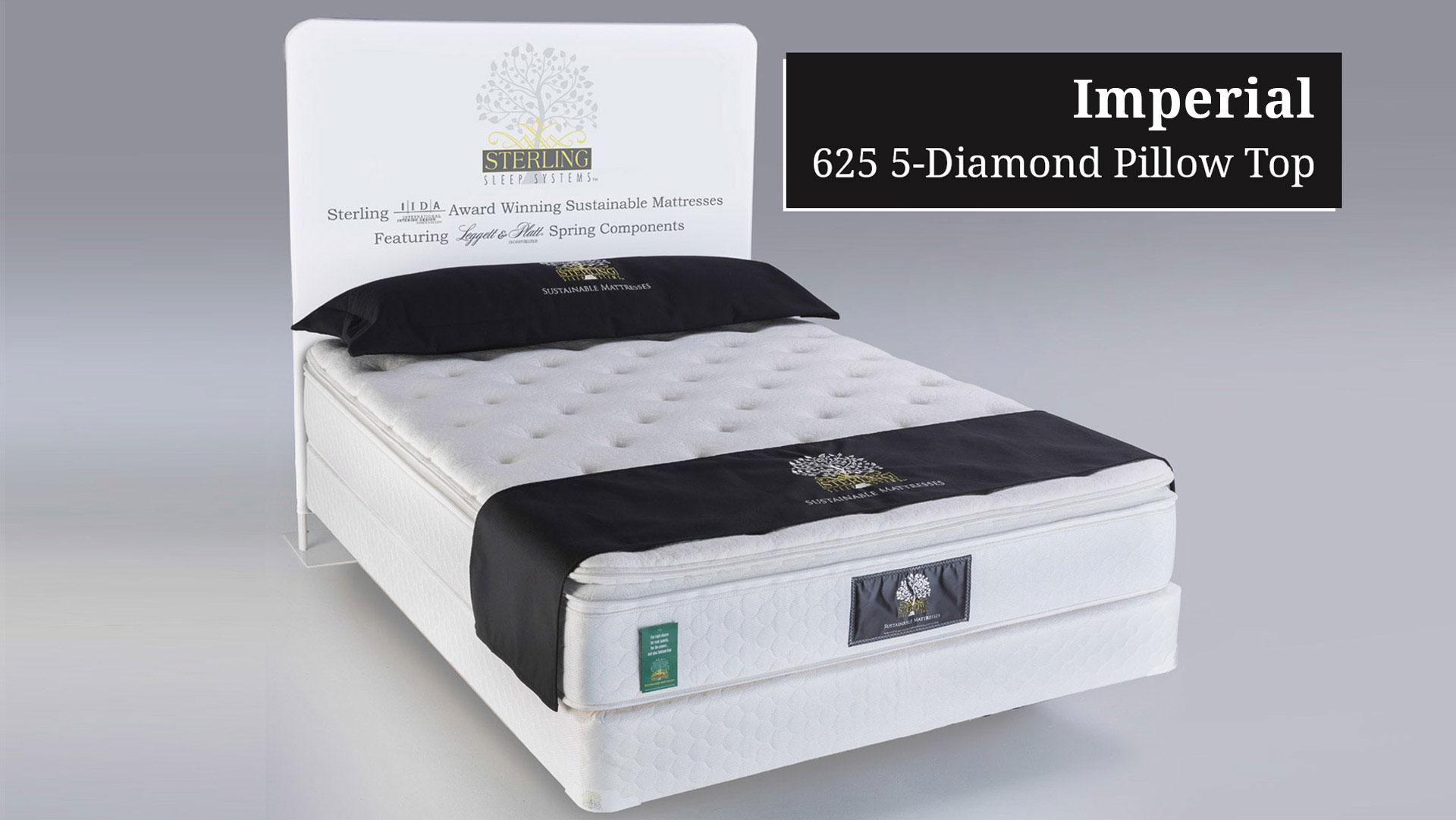 The Diamond 625 Pillow Top An Eco Friendly Mattress